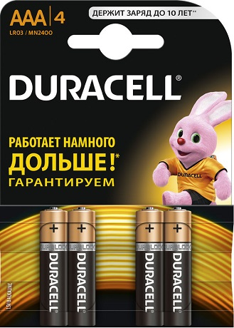 Батарейки Duracell LR03-4BL Ultra Power AAA блистер 4 шт батарея duracell aa turbo 4bl блистер 4 шт