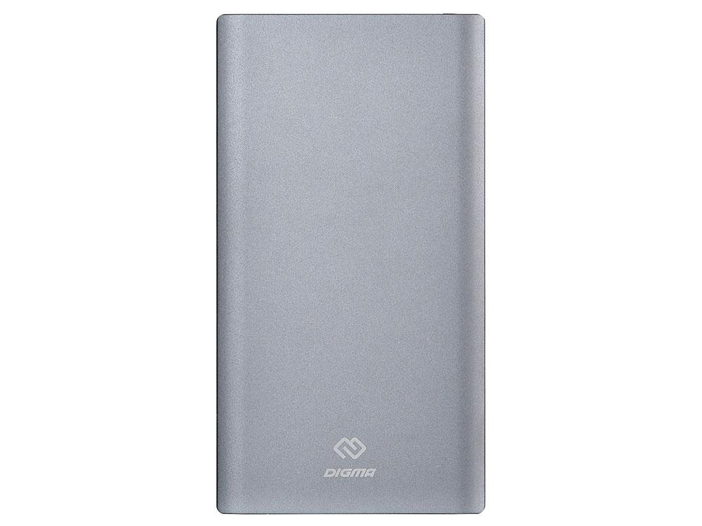 Фото - Мобильный аккумулятор Digma DG-PD-30000-SLV Li-Pol 30000mAh 3A серебристый 2xUSB аккумулятор