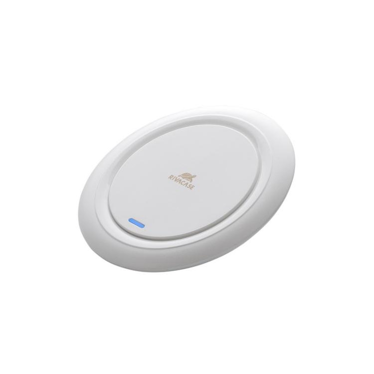 Беспроводное зарядное устройство RIVACASE VA4913 WD1 белое 10W беспроводное зарядное устройство belkin boost up f7u027vfwht белый