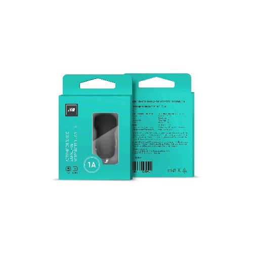 Автомобильное зарядное устройство BoraSCO 1 USB, 1A черное автомобильное зарядное устройство borasco 2 usb 2 1a дата кабель 30pin 1м белый
