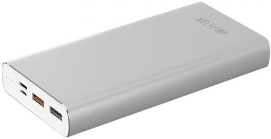 Аккумулятор HIPER Внешний аккумулятор HIPER MPX15000 SILVER аккумулятор hiper внешний аккумулятор hiper mpx15000 gold