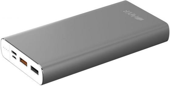 Аккумулятор HIPER Внешний аккумулятор HIPER MPX15000 SPACE GRAY аккумулятор hiper внешний аккумулятор hiper mpx15000 gold