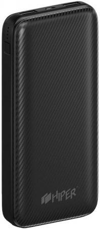 Аккумулятор HIPER Внешний аккумулятор HIPER SPX20000 BLACK аккумулятор runtastic runbatt2