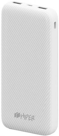 Аккумулятор HIPER Внешний аккумулятор HIPER SPX20000 WHITE аккумулятор runtastic runbatt2