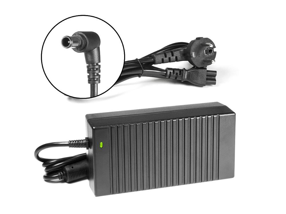 Зарядное устройство для моноблока TopON TOP-SY08 Sony Vaio VPC-L, VGC-LT, VGC-LM, VPC-F Series. 19.5V 7.7A 150W. Коннектор 6,5 на 4,4 мм с иглой. цена