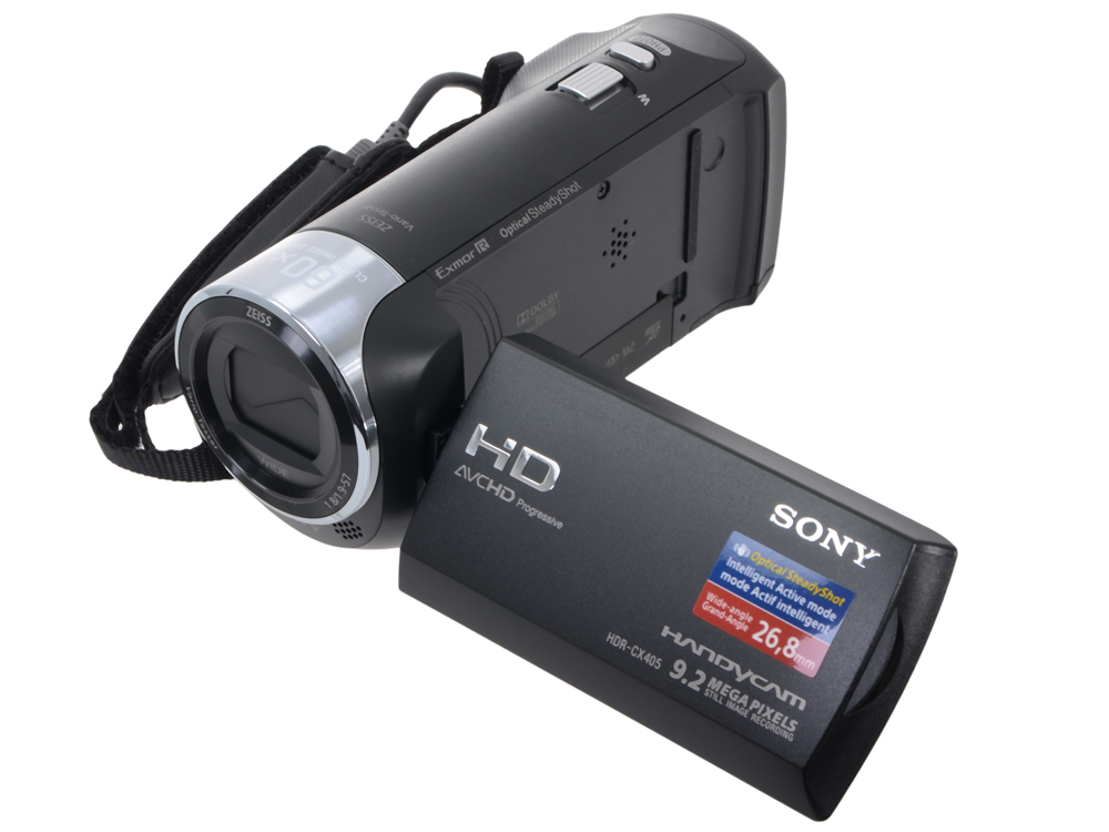 Видеокамера Sony HDR-CX405B Black (30x.Zoom, 9.2Mp, CMOS, 2.7, OS, AVCHD/MP4) [HDRCX405B.CEL] видеокамера full hd sony hdr cx900