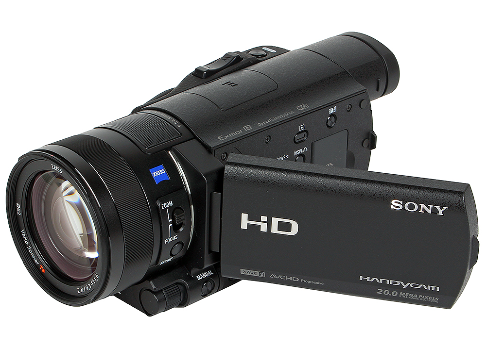 Видеокамера Sony HDR-CX900EBC Black [HDRCX900EB.CEN] (12x.Zoom, 20Mp, CMOS, 3.0, OS, AVCHD/MP4, WiF, NFC) sony hdr cx900e black