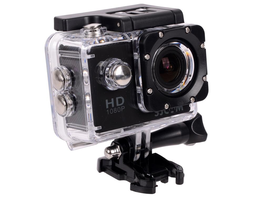 Экшн-камера SJCAM SJ4000 2 черный new original sjcam sj4000 wifi action camera 2 0 inch sports dv screen 1080p hd diving 30m waterproof mini camcorder sj 4000 cam