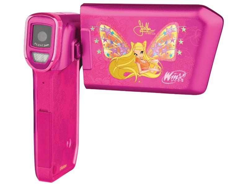 Цифровая видеокамера Winx WX-4402 ST HD SD/ММС-16Гб зум 8Х розовый