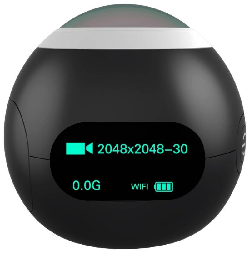 Экшн-камера SJCAM SJ360 черный экшн камера sjcam m20 серебристый