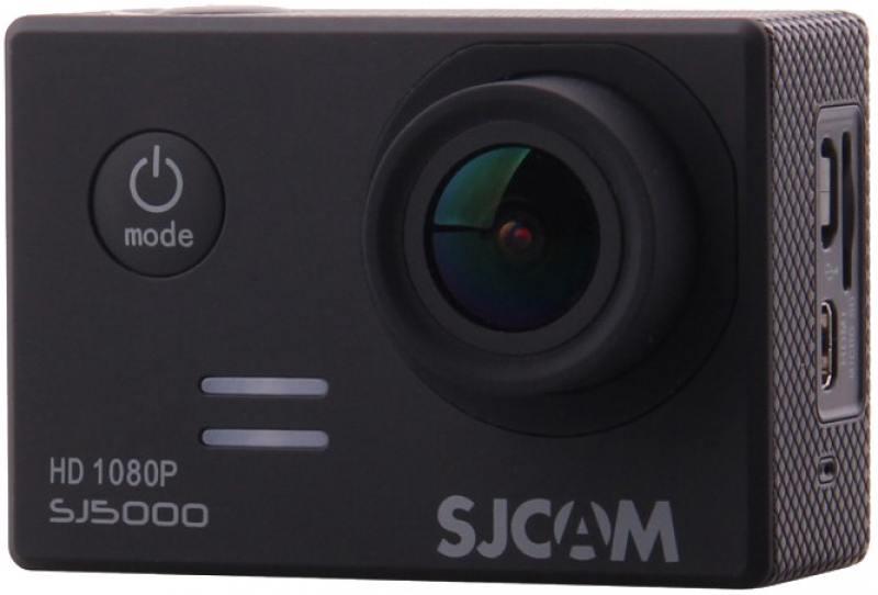 Экшн-камера SJCAM SJ5000 1xCMOS 14Mpix черный экшн камера sjcam sj5000 wifi 1080p wifi желтый [sj5000wifiyellow]