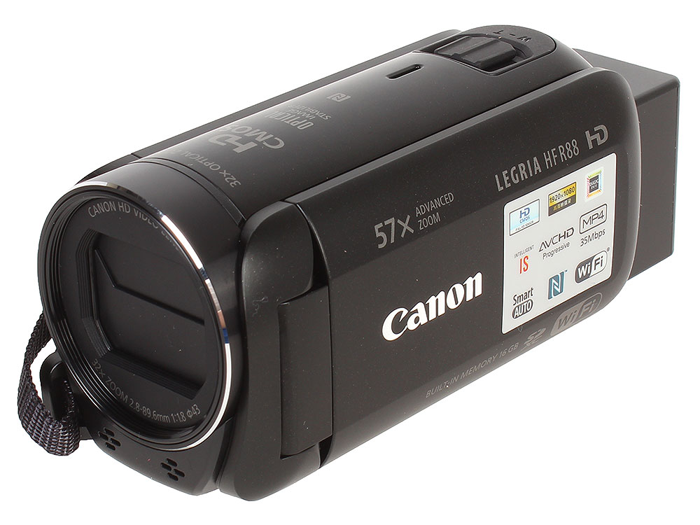 Видеокамера Canon LEGRIA HF R88 Black