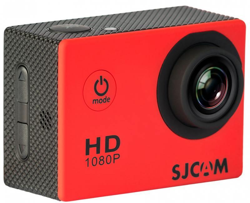 Экшн-камера SJCAM SJ4000 красный action камера sjcam sj4000 black