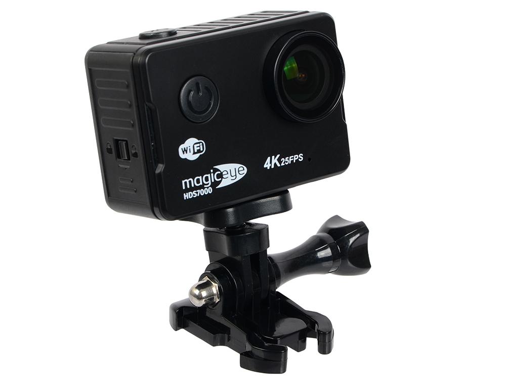 Экшн-камера Gmini MagicEye HDS7000 Black Мото/Вело/Авто/Спорт, водонепроницаемый, 4K, 25fps, 16 MPx, LCD экран 2