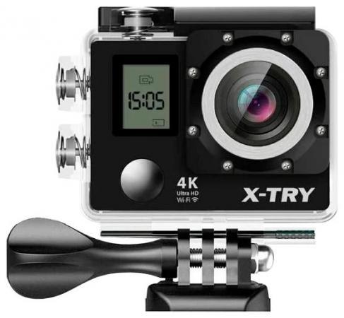 Экшн-камера X-TRY XTC210 черный экшн камера smarterra b8 1080p черный