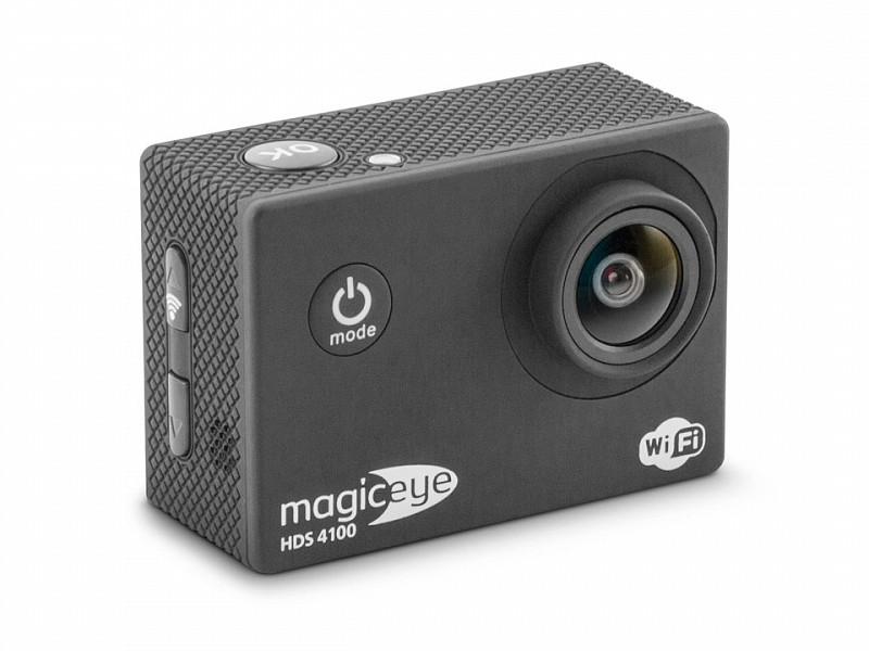Экшн-камера Gmini MagicEye HDS4100 Black Мото/Вело/Авто/Спорт, водонепроницаемый, FullHD, 1080p, LCD экран 2, G-sensor, Wi-Fi; HDMI выход