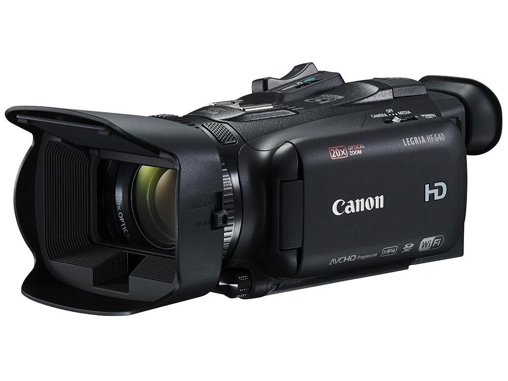 Видеокамера Canon LEGRIA HF G40 Black {AVCHD/MP4, 3,28Mp, 20x, 3.3'', WiFi, SDXC/SDHC/SD} видеокамера canon g40 legria hf