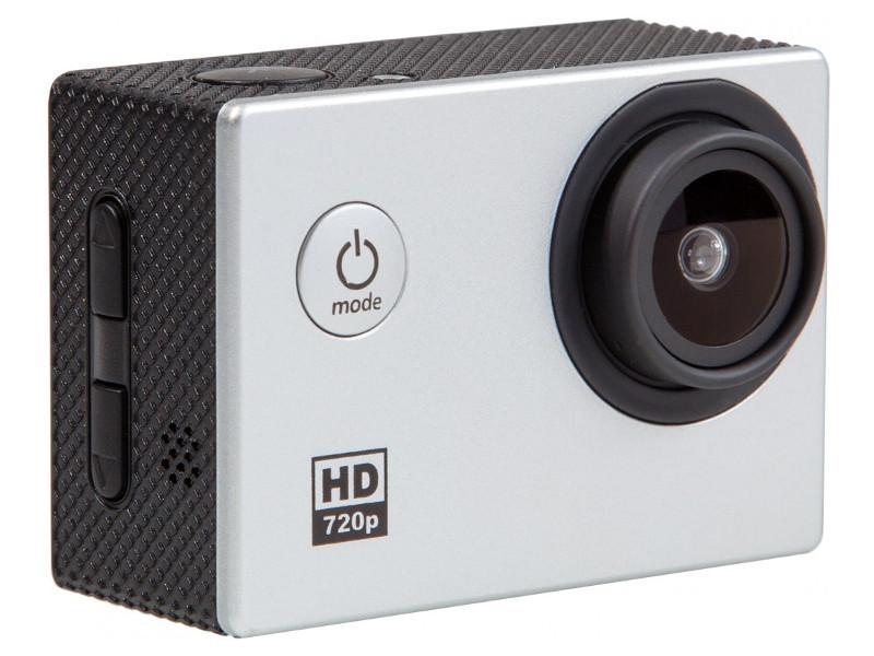 Экшн-камера HD Prolike, серебро prolike 4k plac001bk black экшн камера