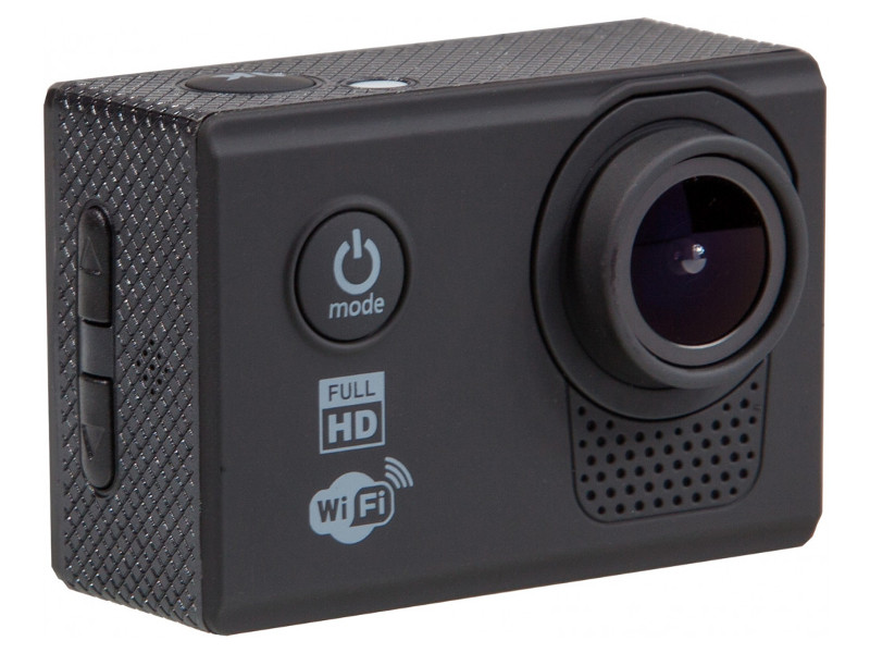Экшн-камера FHD Prolike, черная prolike 4k plac001bk black экшн камера