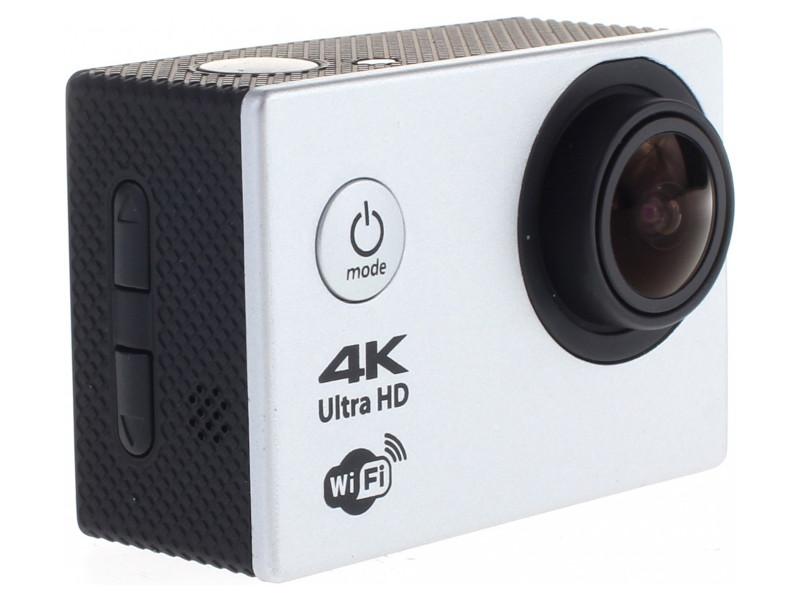 Экшн-камера Prolike 4K, серебро