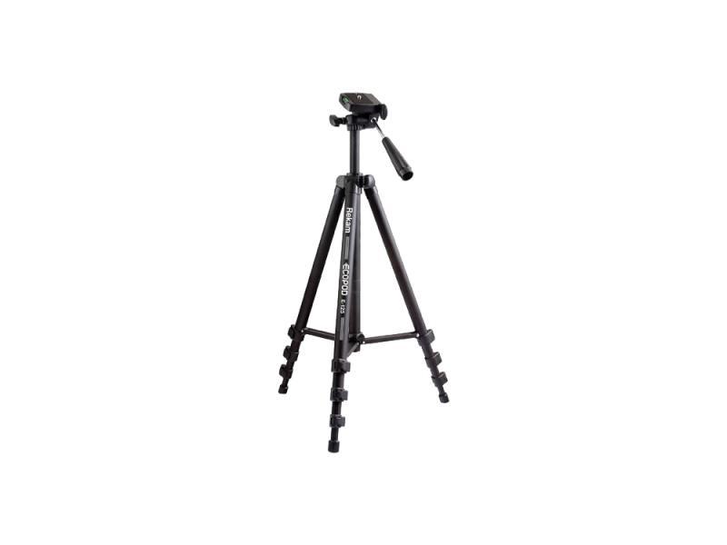 Штатив Rekam Ecopod E-125 напольный трипод до 125 см нагрузка до 2.5 кг черный штатив rekam e 156