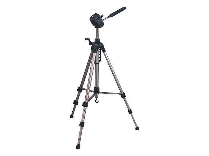 Штатив Rekam RT-M49G напольный трипод до 164 см нагрузка до 4 кг серебристый