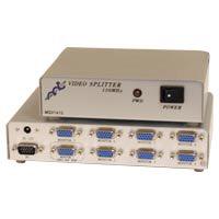 Разветвитель VGA Gembird/Cablexpert, HD15F/8x15F, 1комп.-8 мониторов, каскадируемый