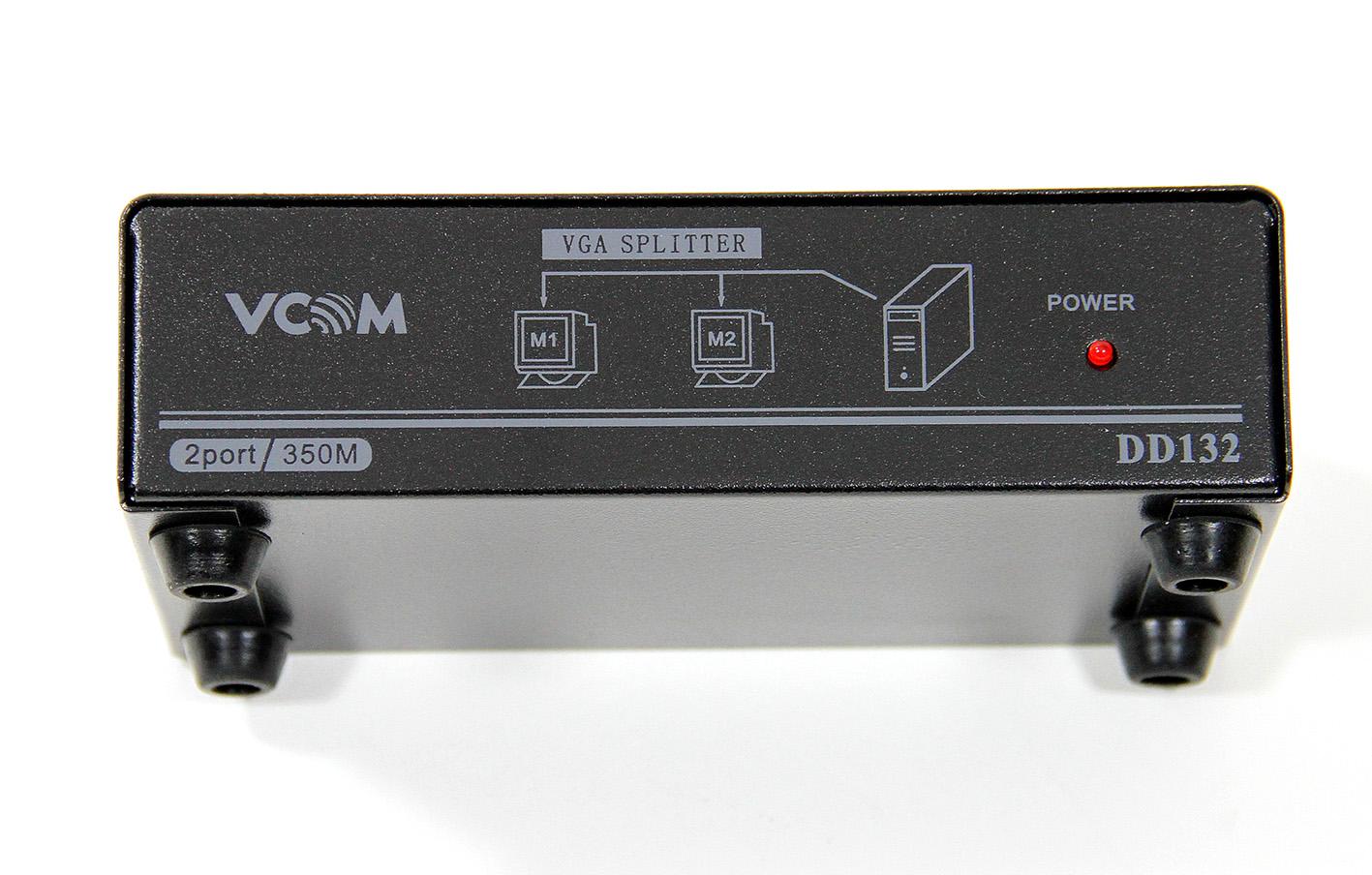 Разветвитель VGA 1 to 2 VS-92A Vpro mod:DD122 350MHz [VDS8015]