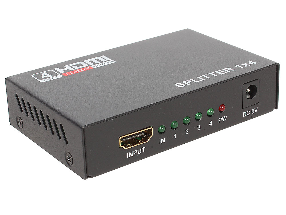 все цены на  Разветвитель HDMI Splitter Orient HSP0104N  онлайн