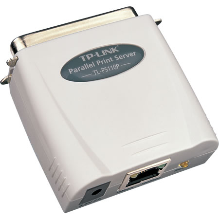 Картинка для Принт-сервер TP-LINK TL-PS110P Single parallel port fast ethernet print server
