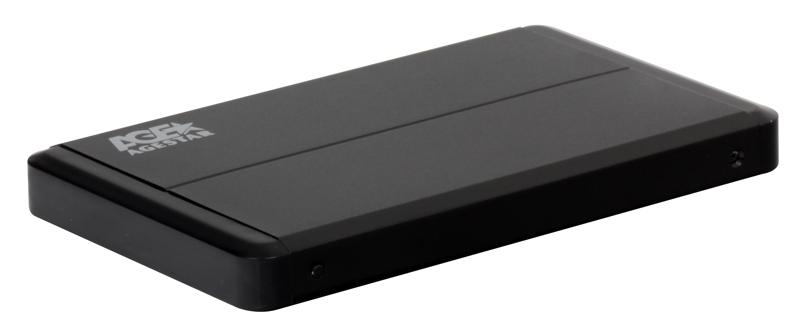 "Внешний бокс для 2.5"" HDD AgeStar 3UB2O8 (BLACK) usb3.0 to SATA, алюминий"