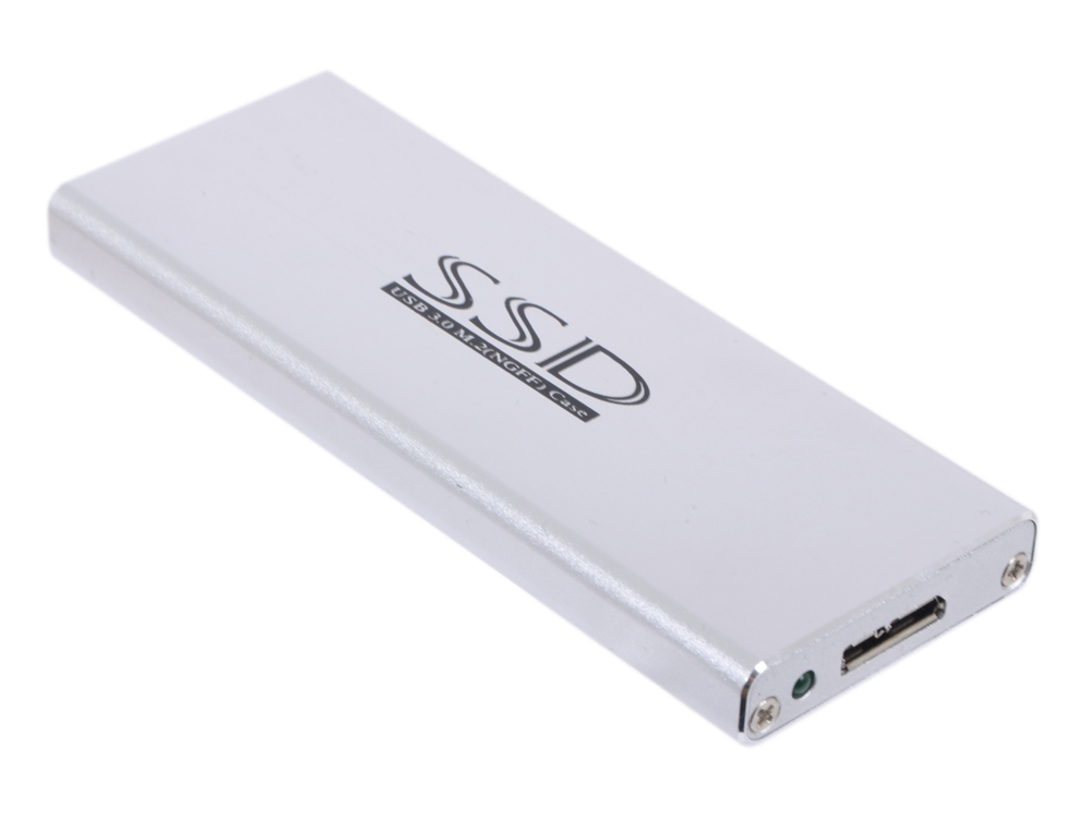 Переходники SSD USB3.0 to M.2(NGFF) in case, w/cab (7009U3), Espada