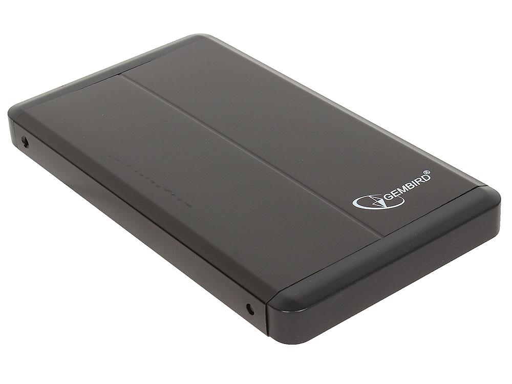 Внешний корпус 2.5 Gembird EE2-U3S-2, черный, USB 3.0, SATA genuine hitachi 2 5 sata hard drive with external usb 2 0 enclosure 120gb