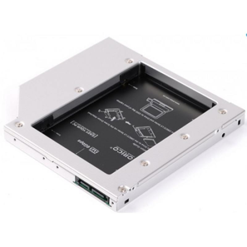 Адаптер HDD в отсек оптического привода ноутбука Orico L95SS-SV  2.5