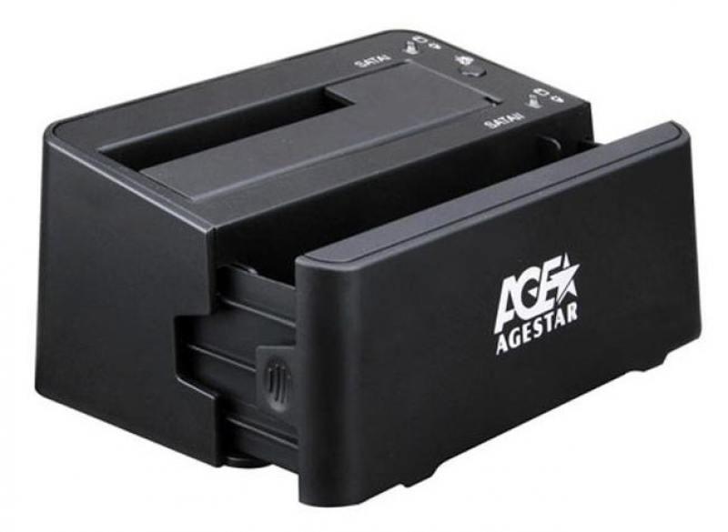 Док станция для AgeStar 3UBT3-6G черная