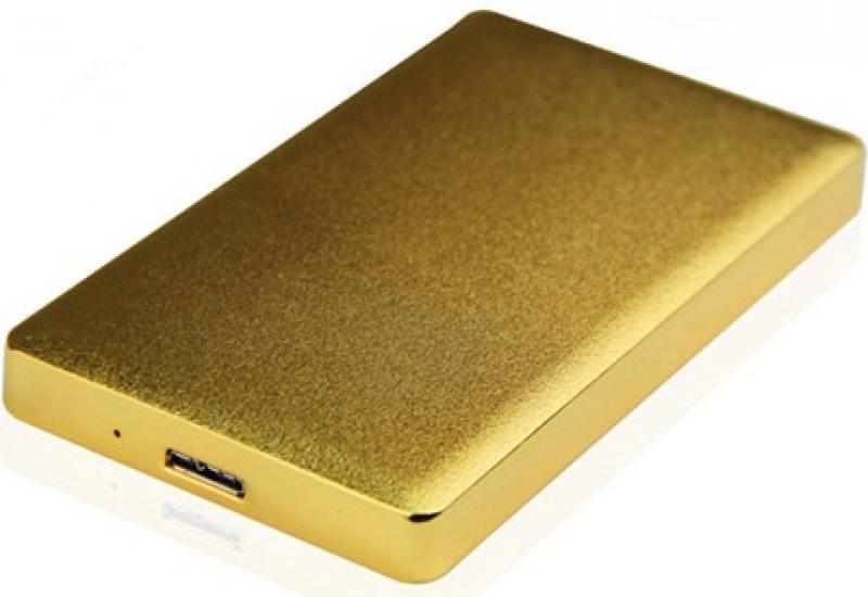 Внешний контейнер для HDD 2.5 SATA AgeStar 31UB2A15 USB3.1 золотистый внешний контейнер для hdd 2 5 sata agestar 3ub2o1 usb3 0 красный