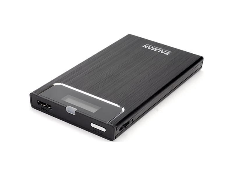 Внешний контейнер для HDD 2.5 SATA ZALMAN ZM-VE350 USB3.0 черный