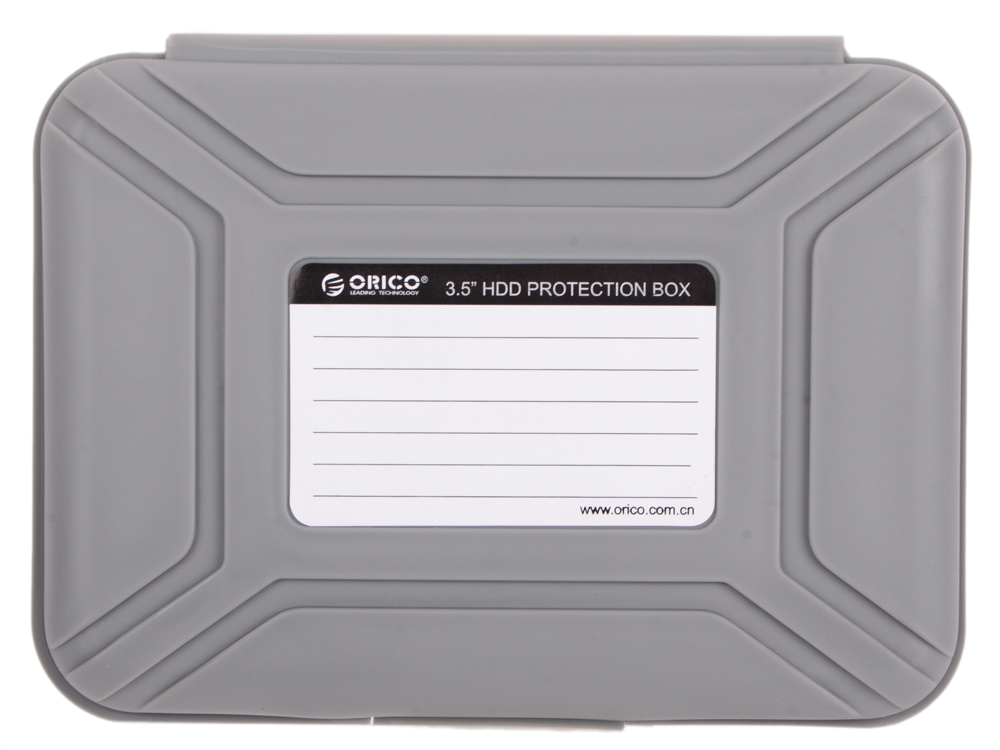 Чехол для HDD 3.5 Orico PHX-35-GY серый чехол для hdd 3 5 orico php 35 gy серый