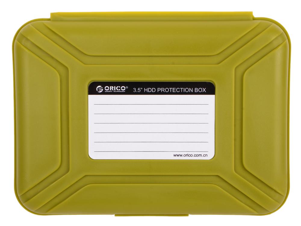 Чехол для HDD 3.5 Orico PHX-35-SN зеленый чехол для hdd 3 5 orico php 35 sn зеленый