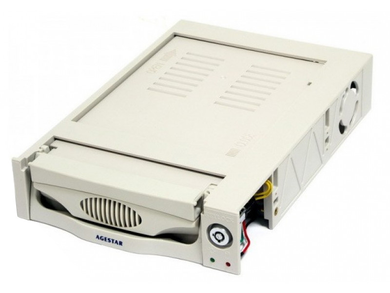 Mobile rack для HDD 3.5 AGESTAR MR3-SATA (K)-F бежевый SR3P-K-1F