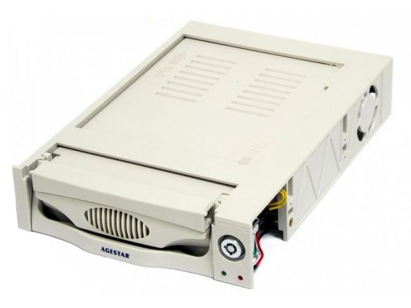 Mobile rack для HDD 3.5 AGESTAR SR3P(K)-3F SATA бежевый 1pcs serial ata sata 4 pin ide to 2 of 15 hdd power adapter cable hot worldwide