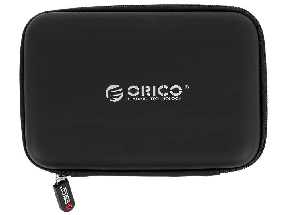 Чехол для HDD 2.5 Orico PHB-25-BK черный чехол для жесткого диска 2 5 orico phd 25 красный