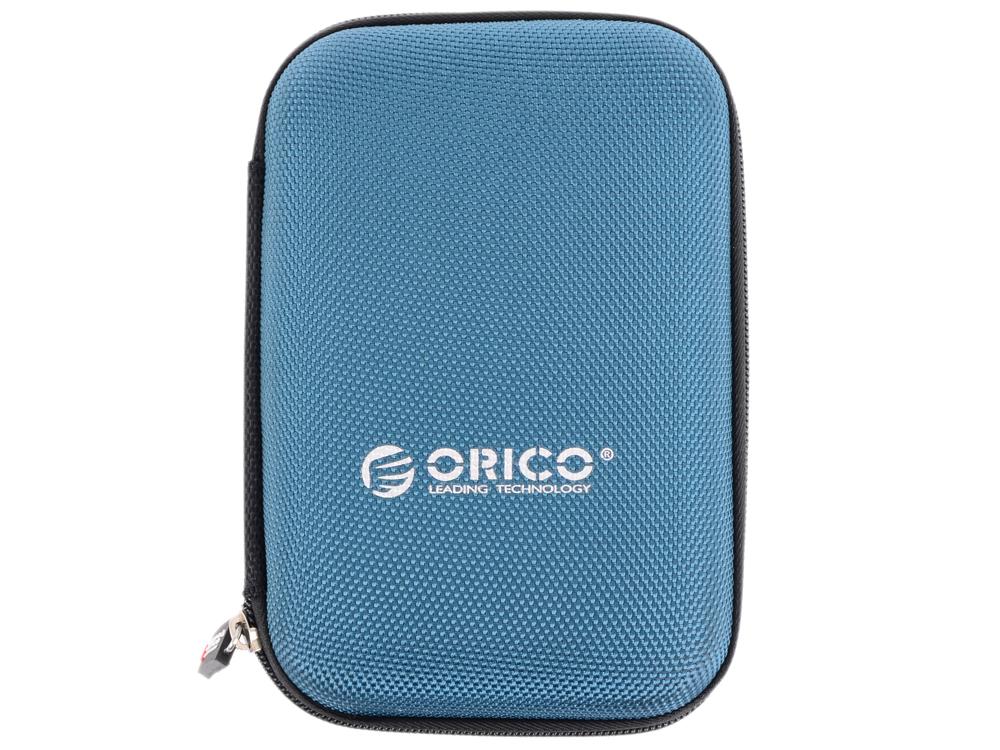 Чехол для HDD 2.5 Orico PHD-25-BL синий чехол для жесткого диска 2 5 orico phd 25 синий