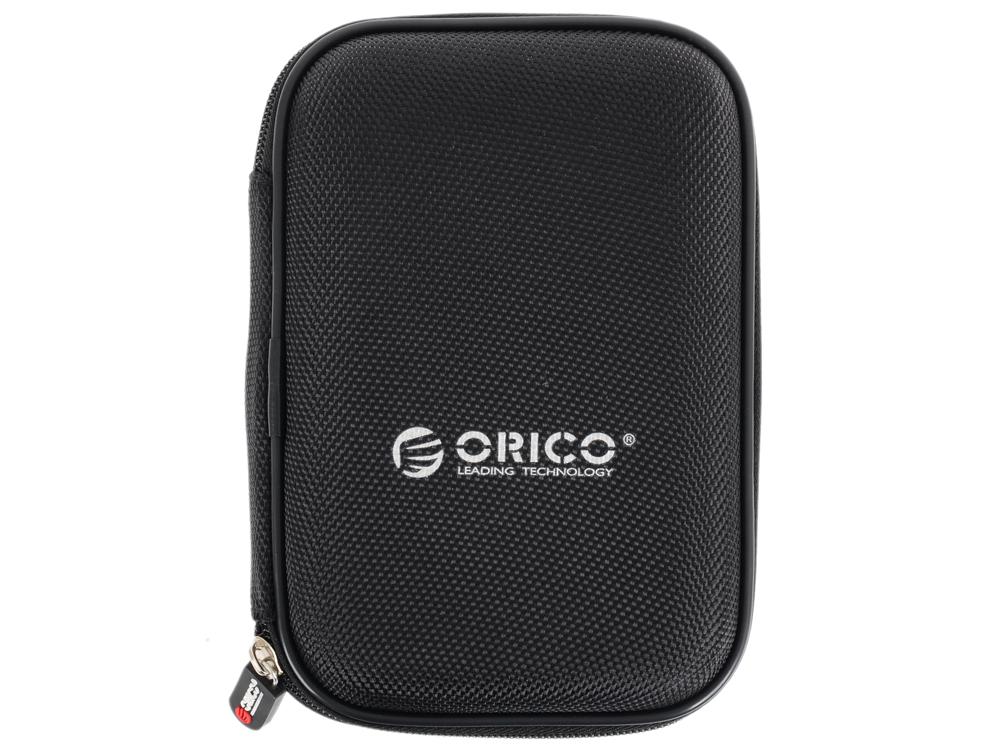 Чехол для HDD 2.5 Orico PHD-25-BK черный чехол для жесткого диска 2 5 orico phd 25 красный