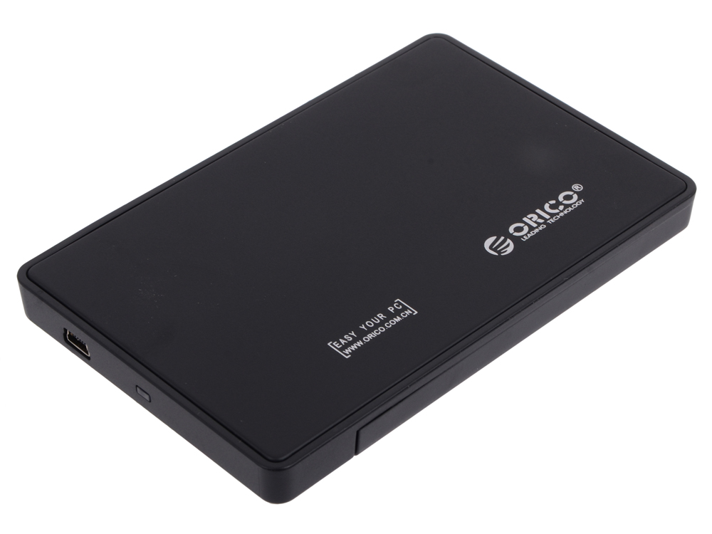 Внешний контейнер для HDD Orico 2588US-BK (черный) 2.5 USB 2.0 корпус для hdd orico 9528u3 2 3 5 ii iii hdd hd 20 usb3 0 5