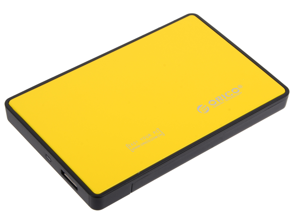 "Внешний контейнер для HDD Orico 2588US3-OR (желтый) 2.5"" USB 3.0"