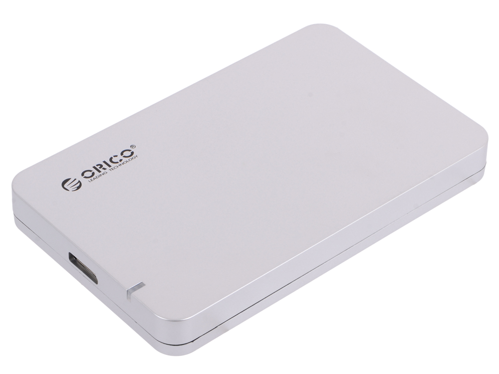 Внешний контейнер для HDD Orico 2569S3-SV (серебристый) 2.5 USB 3.0, SATA III корпус для hdd orico 5 3 5 ii iii hdd hd 20 usb3 0 5 3559susj3