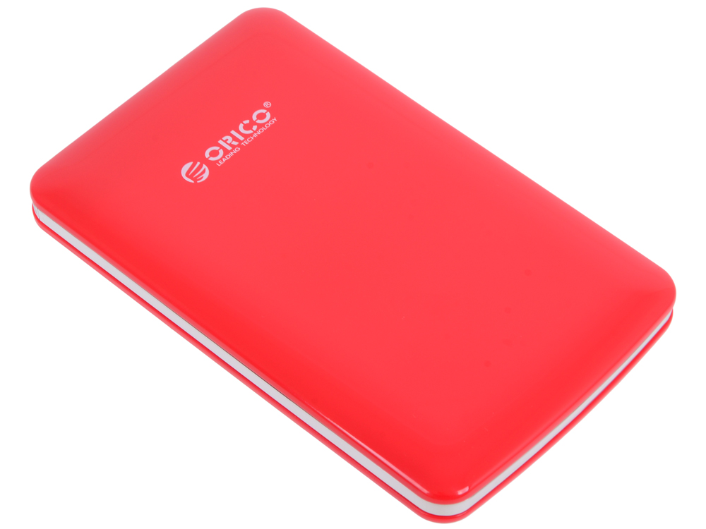 Внешний контейнер для HDD Orico 2579S3-RD (красный) 2.5 USB 3.0, SATA III корпус для hdd orico 5 3 5 ii iii hdd hd 20 usb3 0 5 3559susj3
