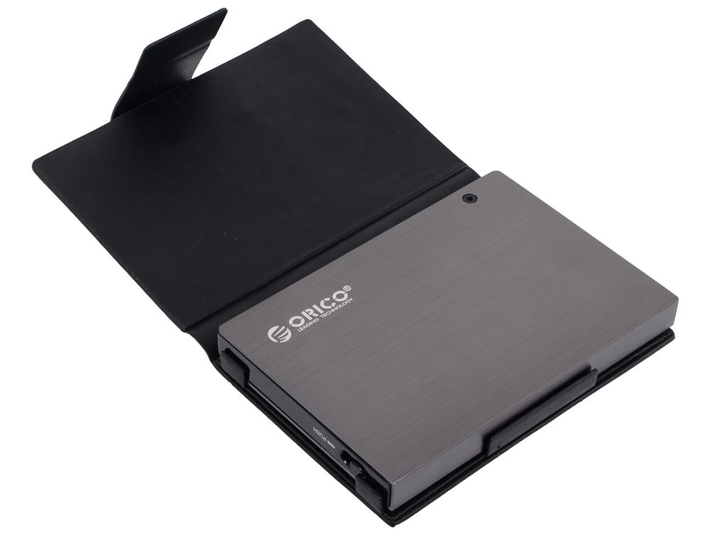 "Внешний контейнер для HDD Orico 25AU3-GY (серый) 2.5"" USB 3.0"