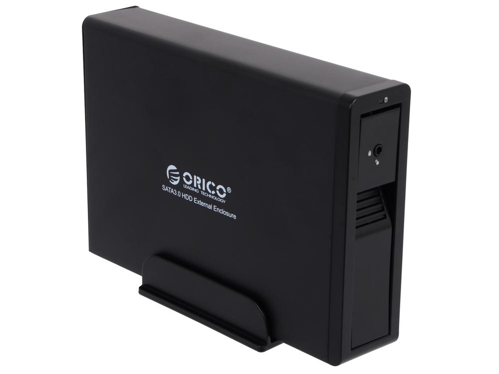 """Внешний контейнер для HDD Orico 7618SE3-BK (черный) 3.5"""""""